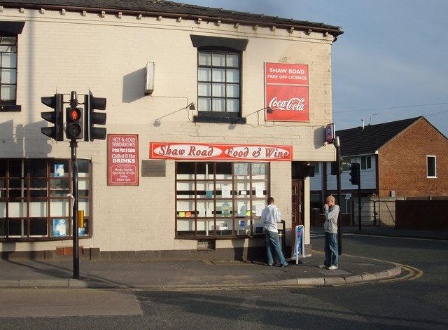 Corner Shop, Luzley Brook