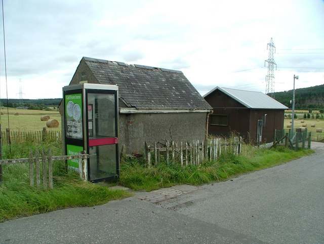 Telephone exchanges, new and old & kiosk