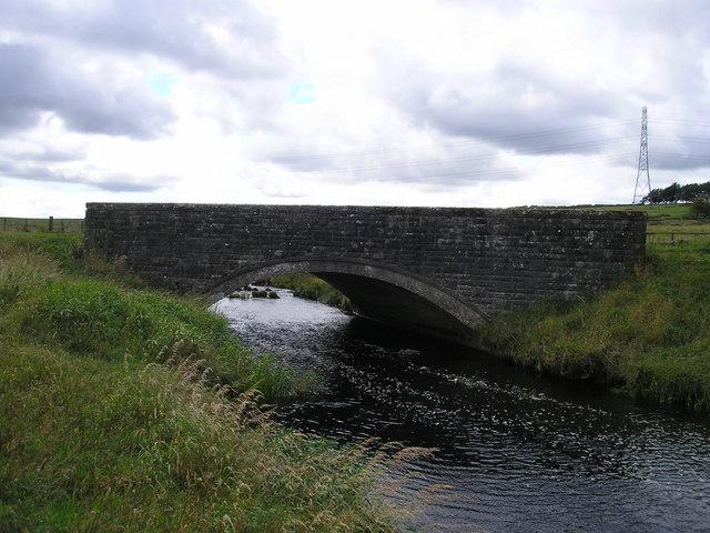 Stone bridge over Calder