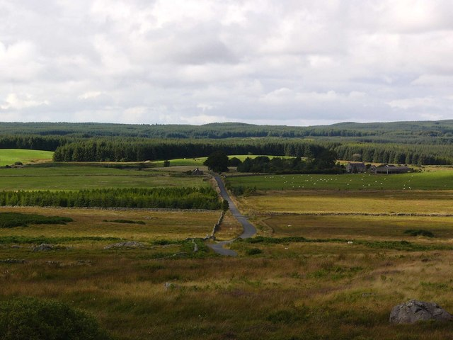 West Culvennan from the Gargrie