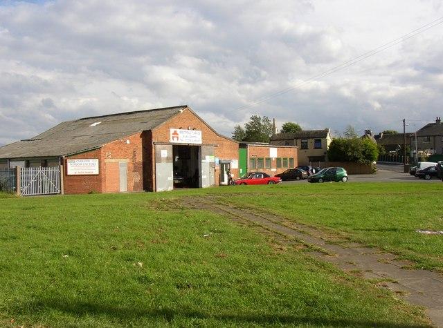 Westfield garage, Town Gate, Wyke