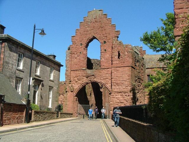 Arbroath Abbey ruins