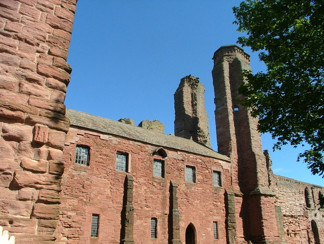 Arbroath Abbey ruins