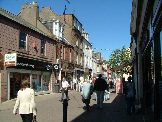 Arbroath High Street