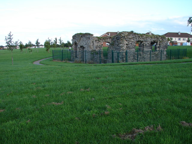 Glasmore Abbey Ruins