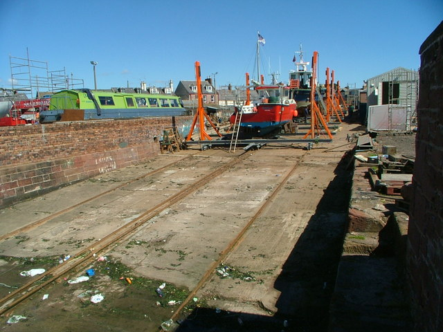 Arbroath slipway