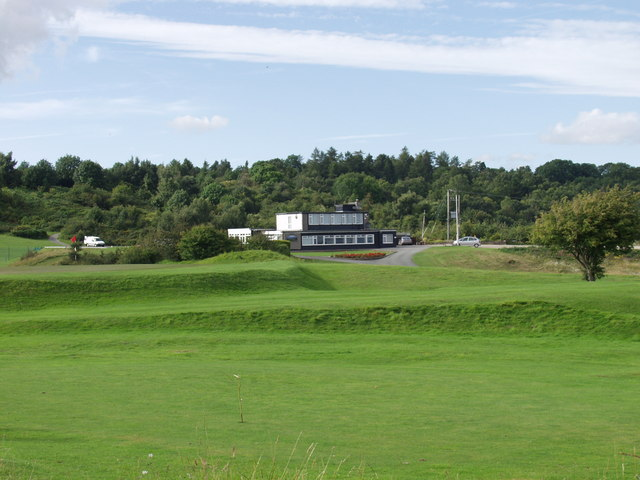 Llanymynech Golf Club clubhouse