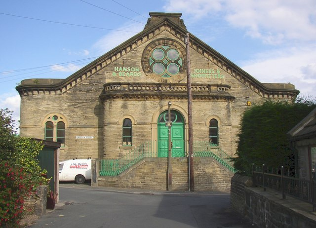 Former chapel and cinema, Garden Field, Wyke