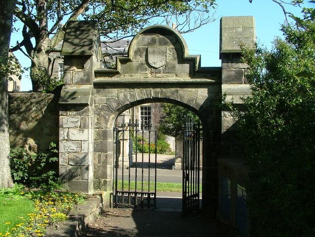 Gate at St. Andrews University
