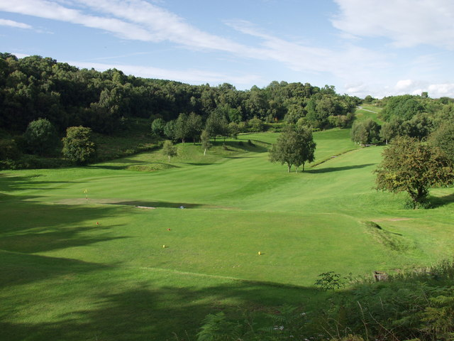 Llanymynech Golf Course looking out from the 8th tee