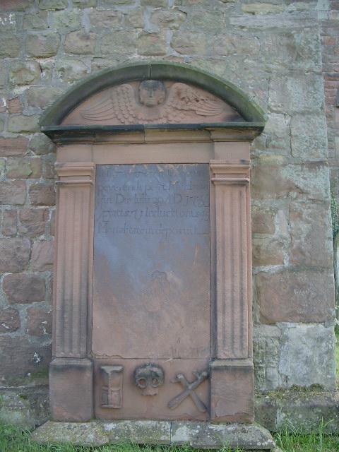 Gravestone, St Mungo's Church, Dearham