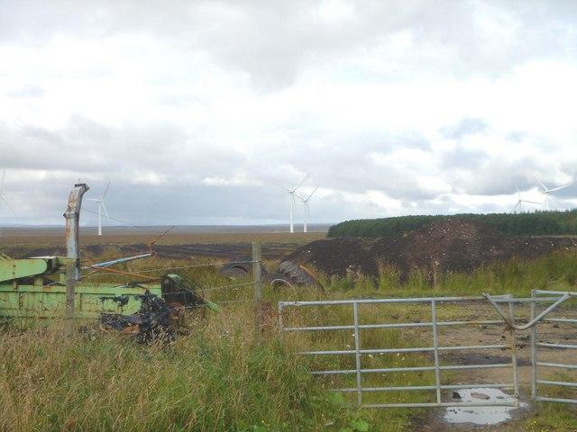 Development on peatland at Causeymire