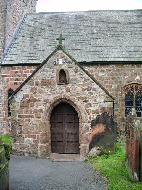 Porch, St Mungo's Church, Dearham