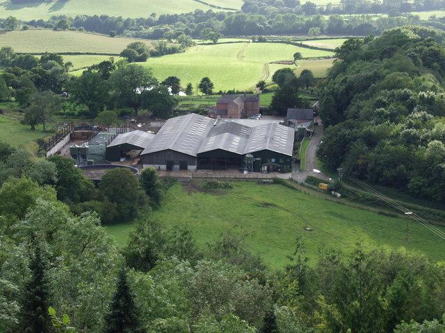Dairy Farm at Blodwel Hall