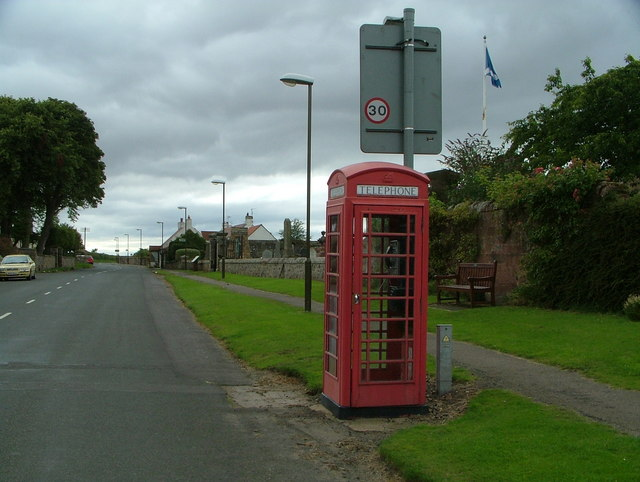 Athelstaneford telephone box