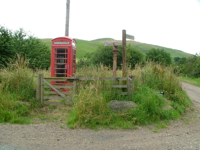Belford on Bowmont telephone box