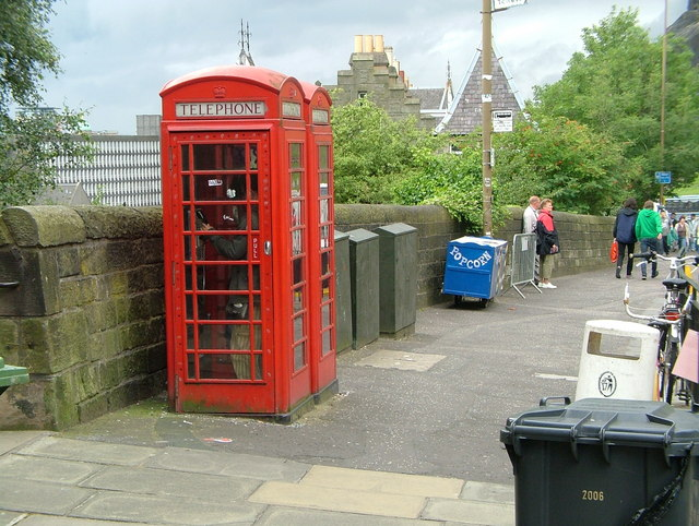 Castle Wynd Telephone boxes