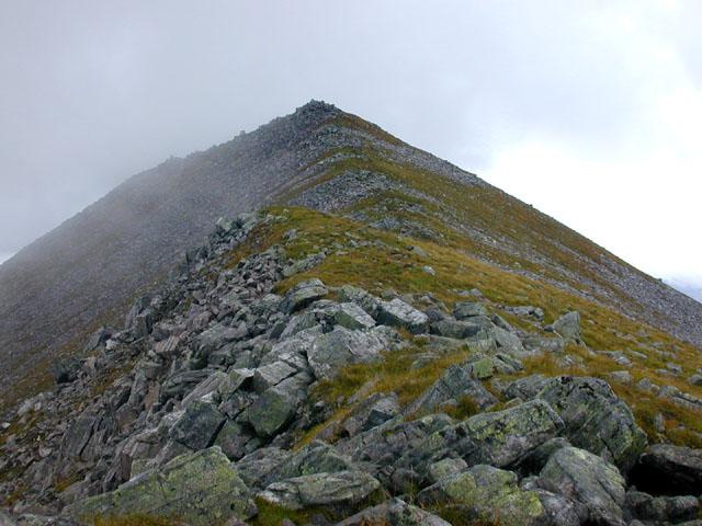 The south ridge of Binnein Mor