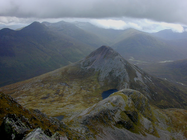 North east from Binnein Mor