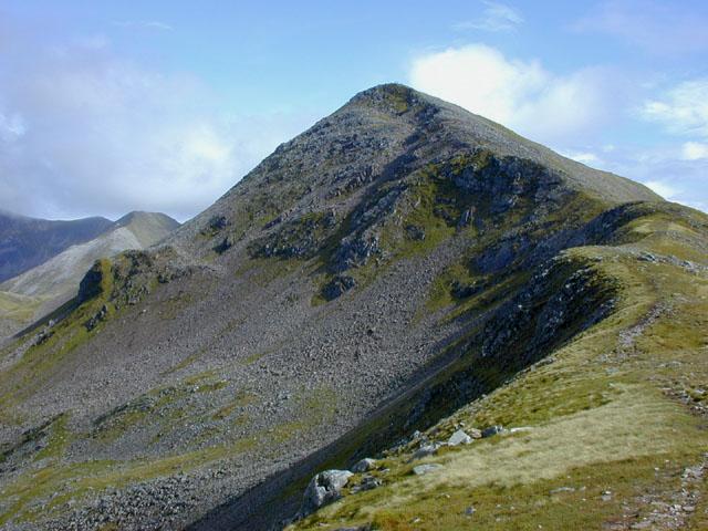 The west ridge of Am Bodach
