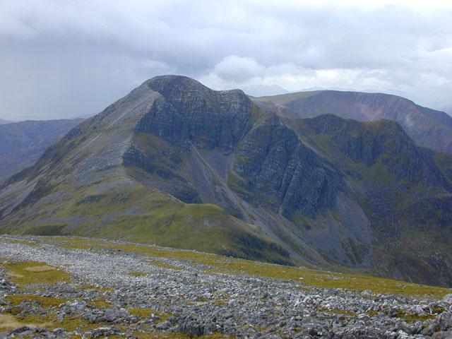 View west from Sgurr an Iubhair