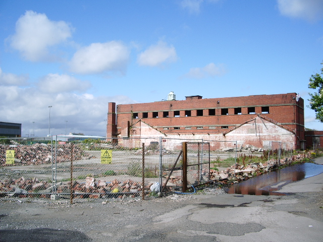 Derelict  site on Glasson Business Park