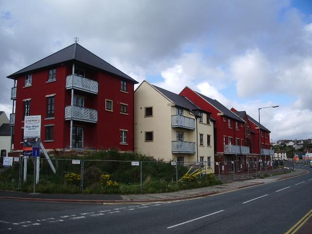 New development near Maryport Marina