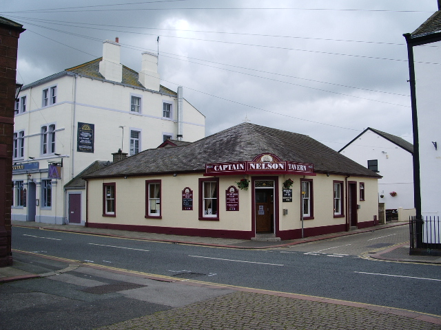Captain Nelson Tavern, South Quay, Maryport