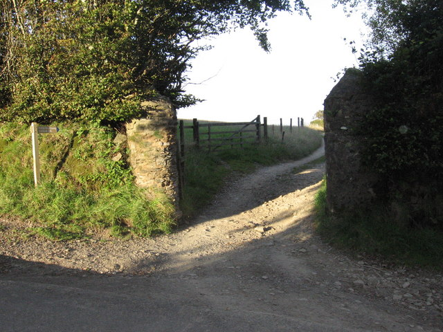 Bridleway to Exford
