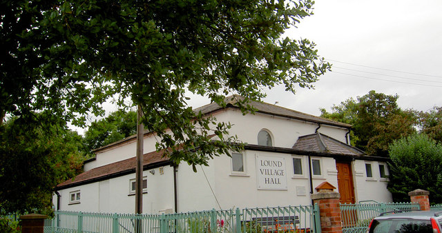 Lound Village Hall.
