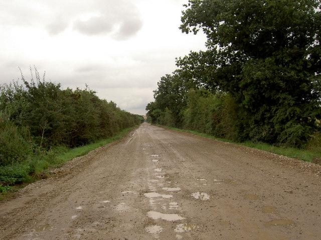 Chain bridge lane.
