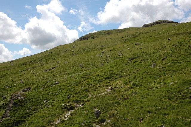 The eastern slopes of Slight Side