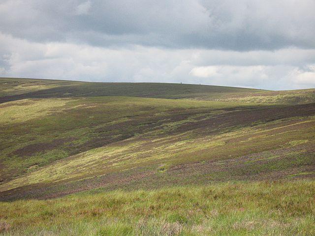 Moorfoots moorland