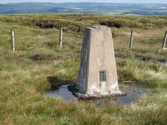 Windlestraw Law trig point