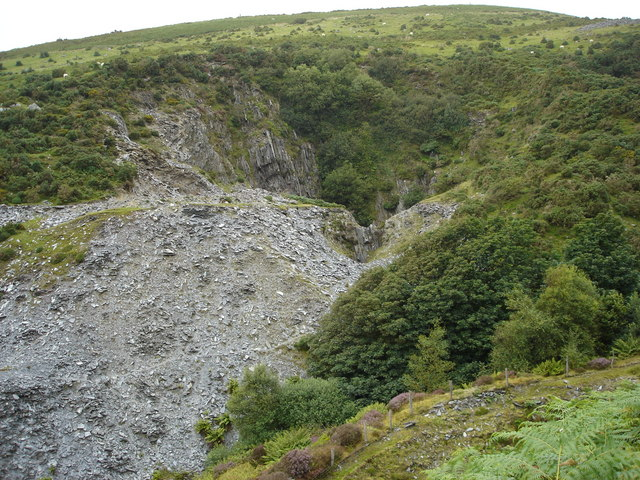 An Old Slate Quarry