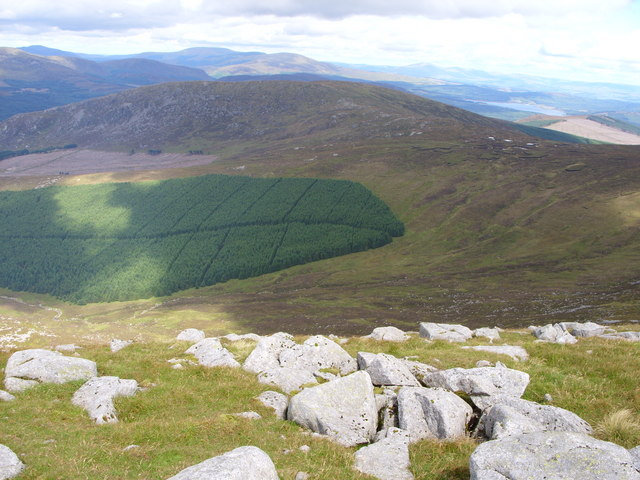 View from  Eastman's Cairn