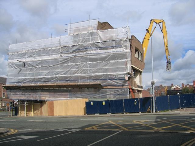 St Martin's House Demolition