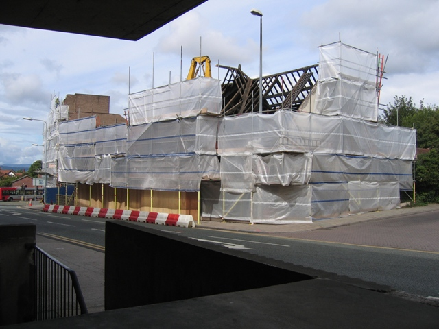 Chester City Mission Demolition, Princess Street