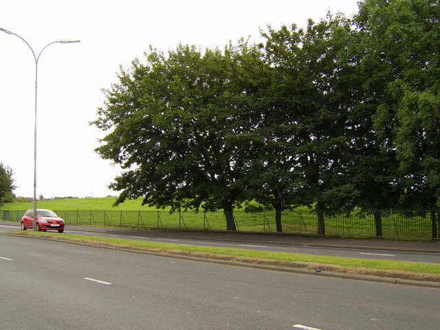 Cardonald Park from Shieldhall Road