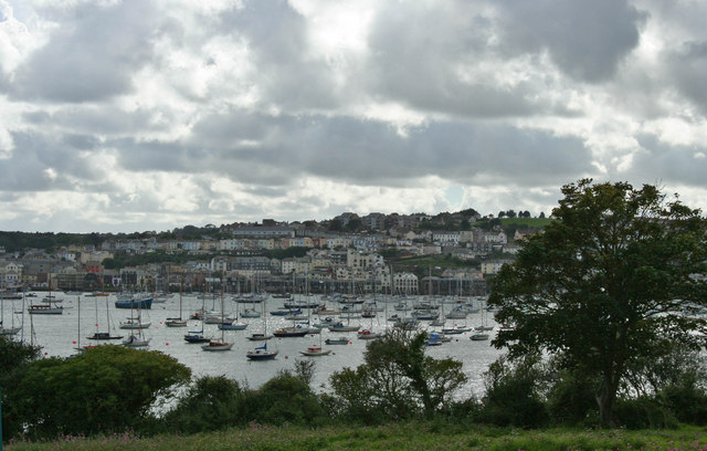 Falmouth Harbour and Town
