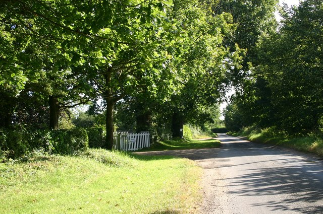 Entrance to Lawrence Farm