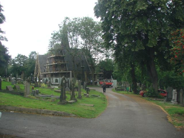 Pontefract Cemetery.