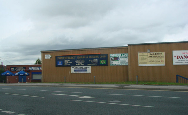 Pontefract Squash and Leisure Club, Stuart Road, Pontefract.