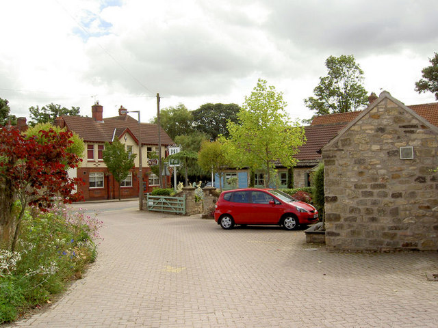 Entrance to PSI garden centre and café.