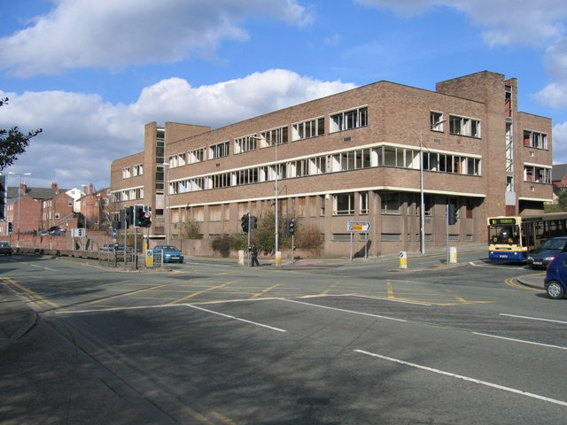 St Martins House prior to Demolition