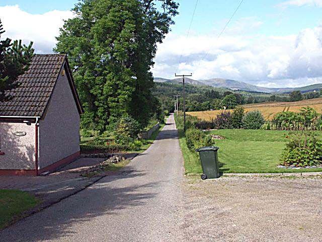 Lane to Cuillich