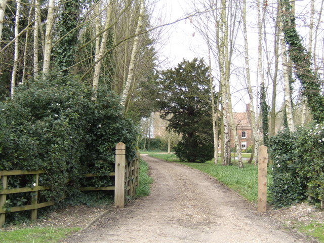 Driveway to Foulden Hall