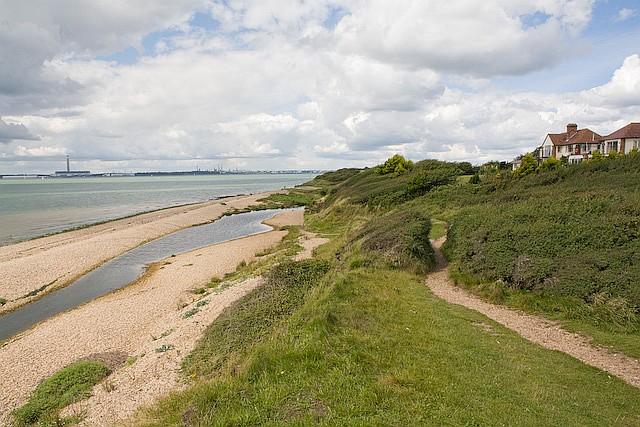 Sea House and shoreline