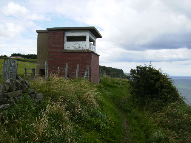 Coastguard Lookout above Common Cliff