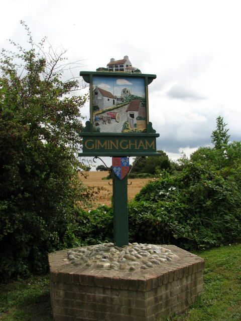 Village Sign, Gimingham